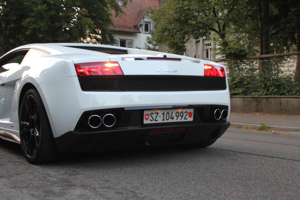 Lamborghini mieten Kilchberg