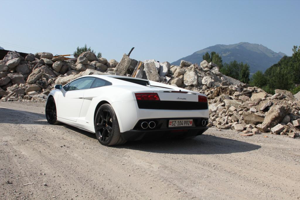 Lamborghini mieten Morschach