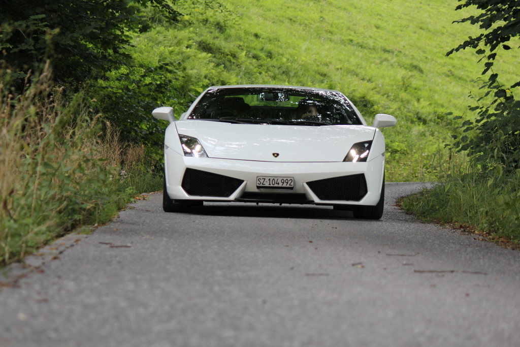 Lamborghini mieten Wald